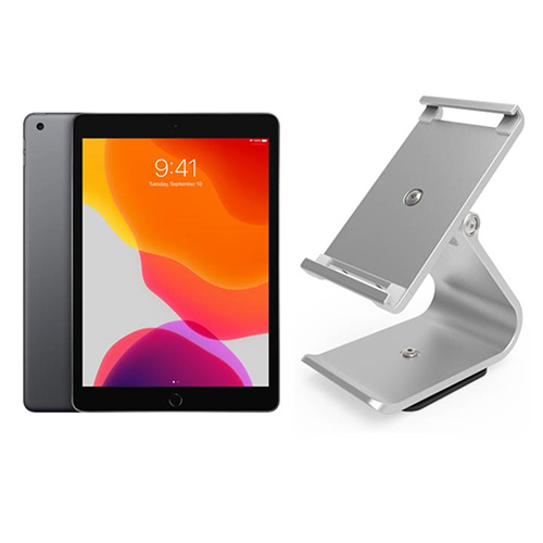 View Apple iPad 10.2 Inch Tablet & VPOS iPad Stand