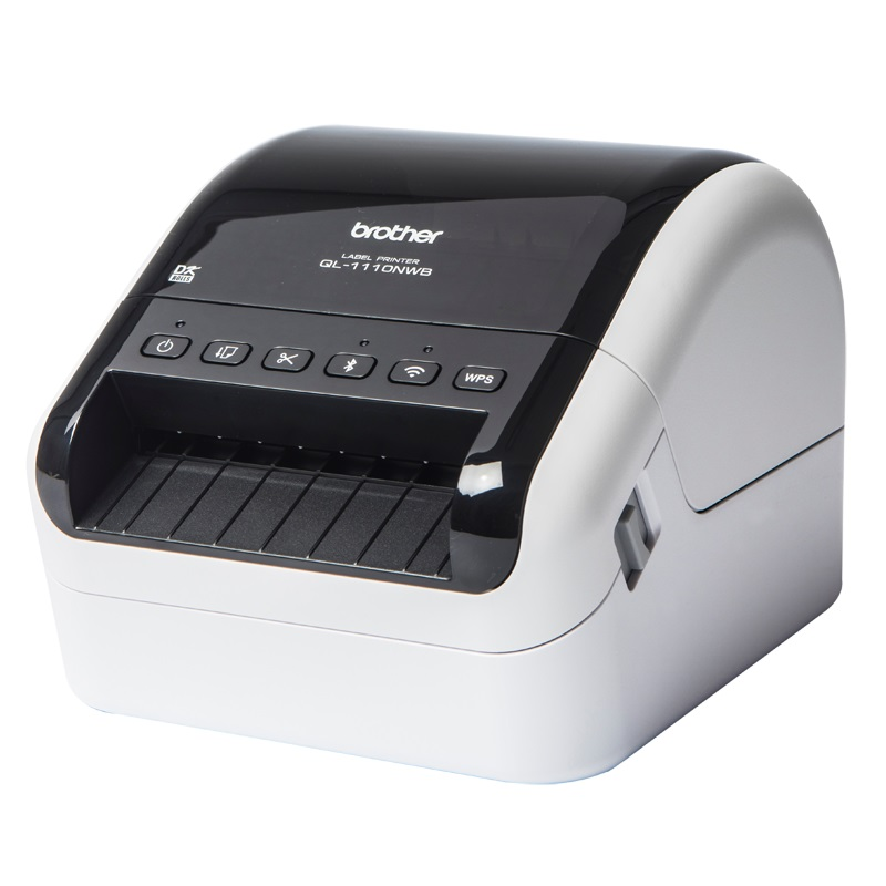 View Brother QL-1110 Label Printer with Ethernet & WiFi Interfaces
