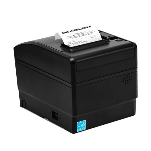 View Bixolon SRP-S300LX Extreme Linerless Thermal Printer USB & Ethernet Interface Black