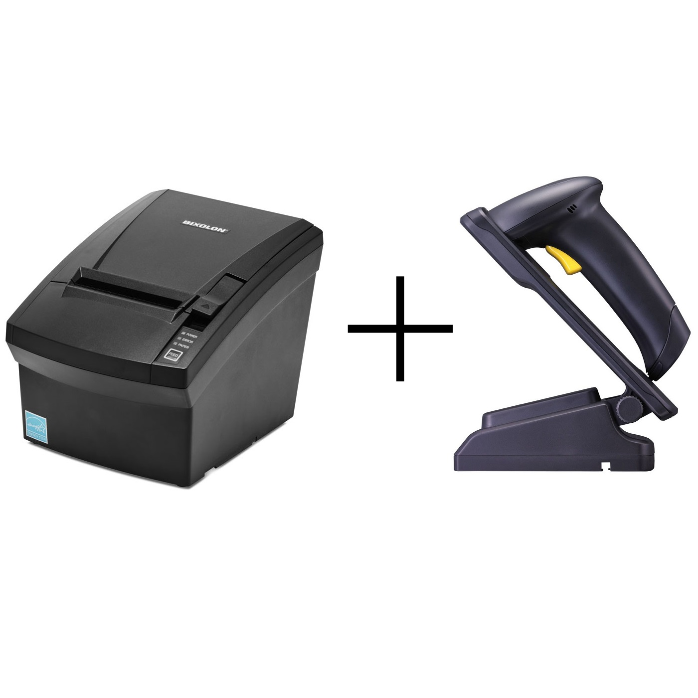 View Bixolon SRP330II + Cipherlab 1500 Scanner Bundle
