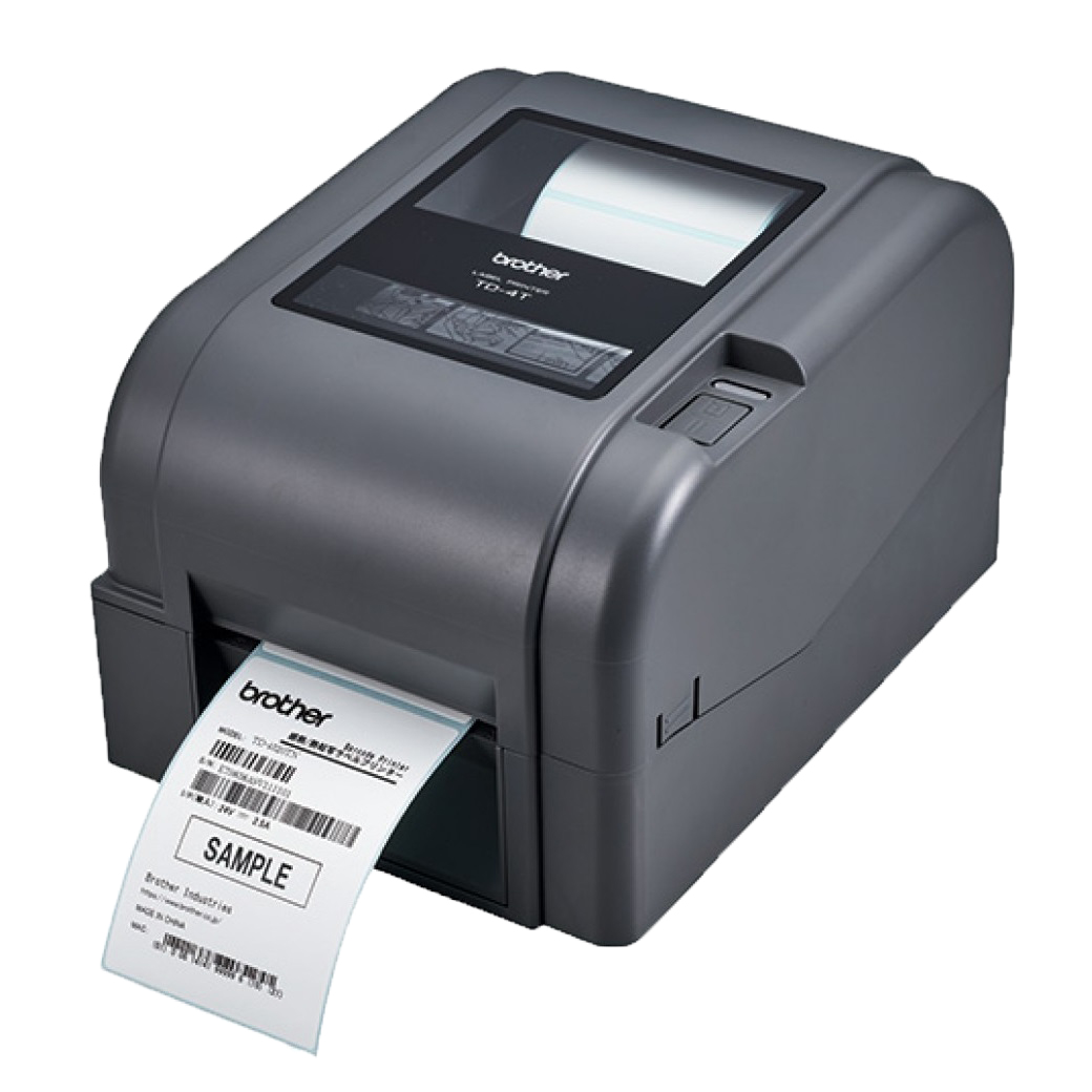 View Brother TD-4420TN Label Printer with USB, Serial & Ethernet Interface