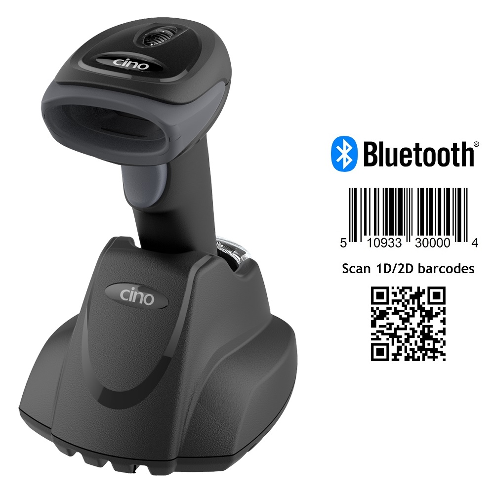 View Cino A660BT 2D Bluetooth Barcode Scanner