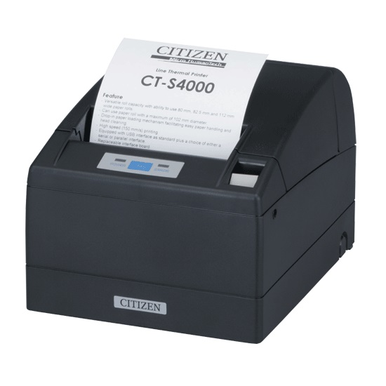 View Citizen CTS-4000 Receipt Printer with USB & Parallel Interface