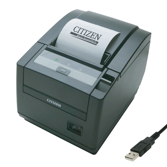 View Citizen CT-S601II Thermal Receipt Printer USB