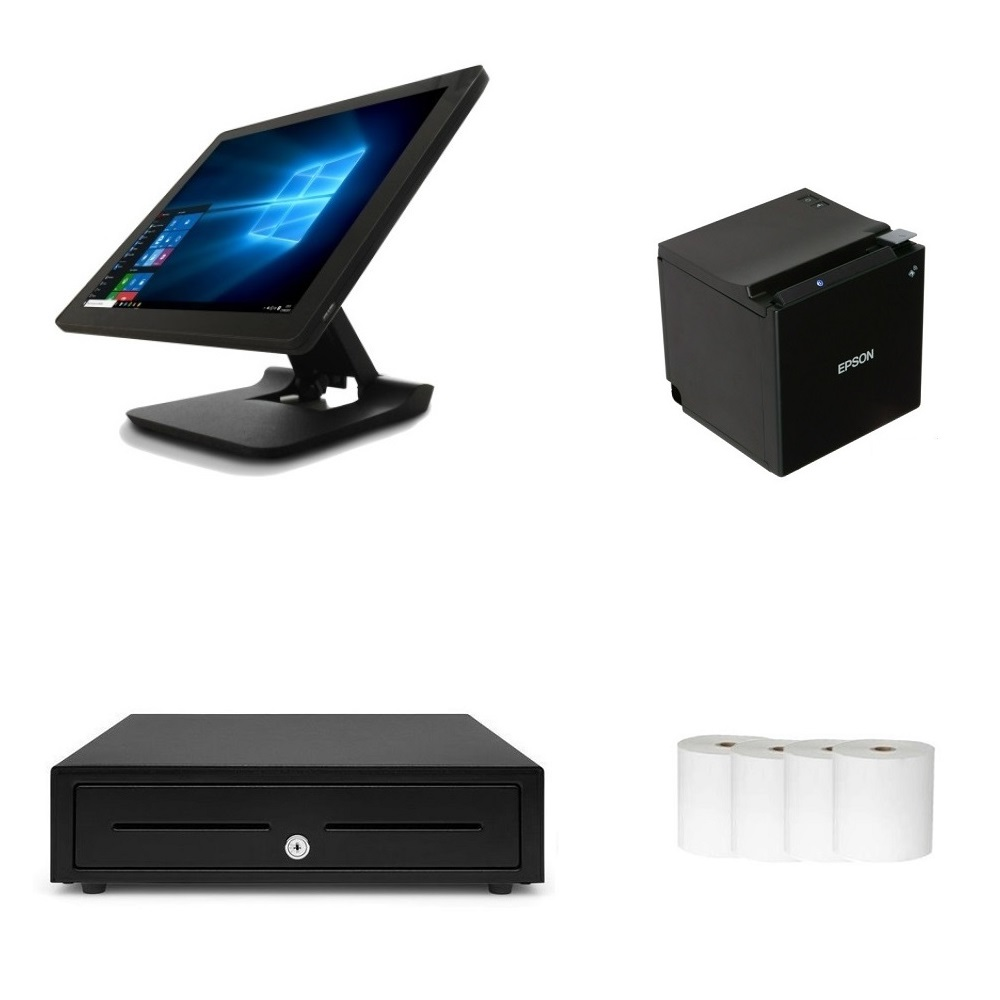 View Element 455 + Epson TM-M30II POS Hardware Bundle