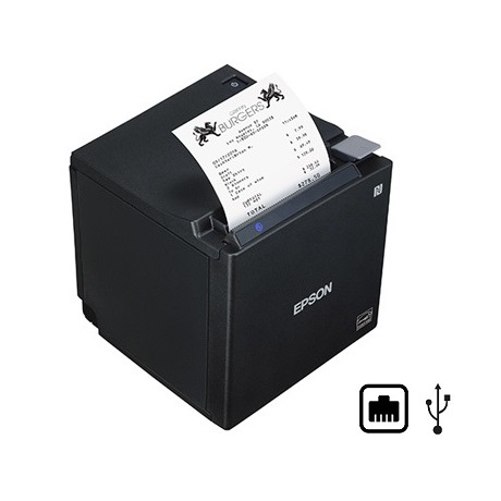 View Epson TM-M30II Ethernet + USB Thermal Receipt Printer