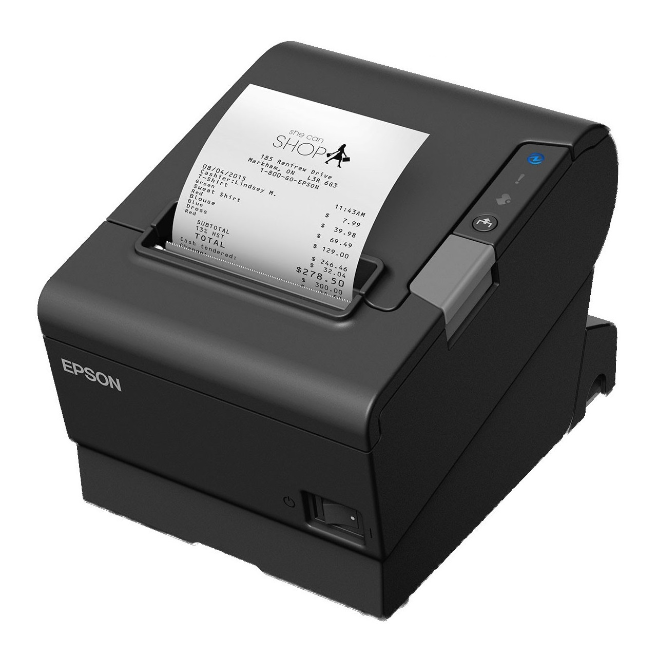 View Epson TM-T88VI Thermal Receipt Printer USB+Serial+Ethernet