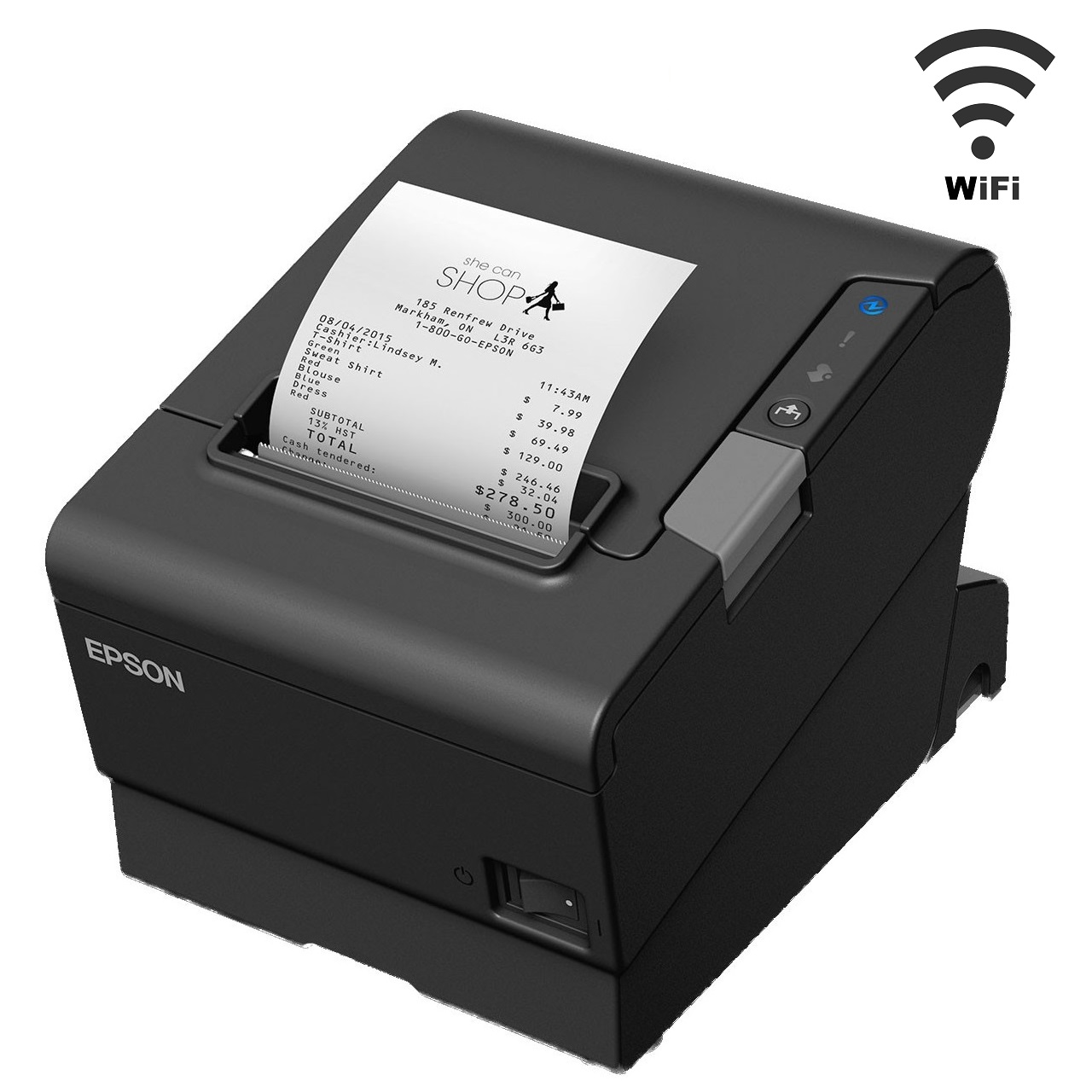 View Epson TM-T88VI Wireless Thermal Receipt Printer