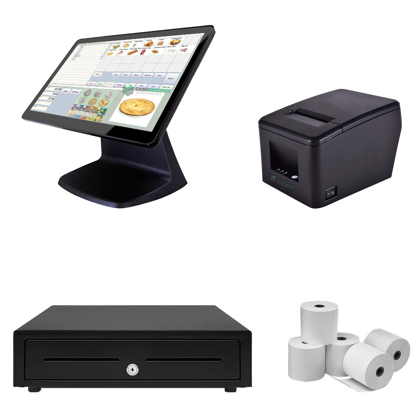 View NeoPOS CA250W Touch Screen POS System Bundle