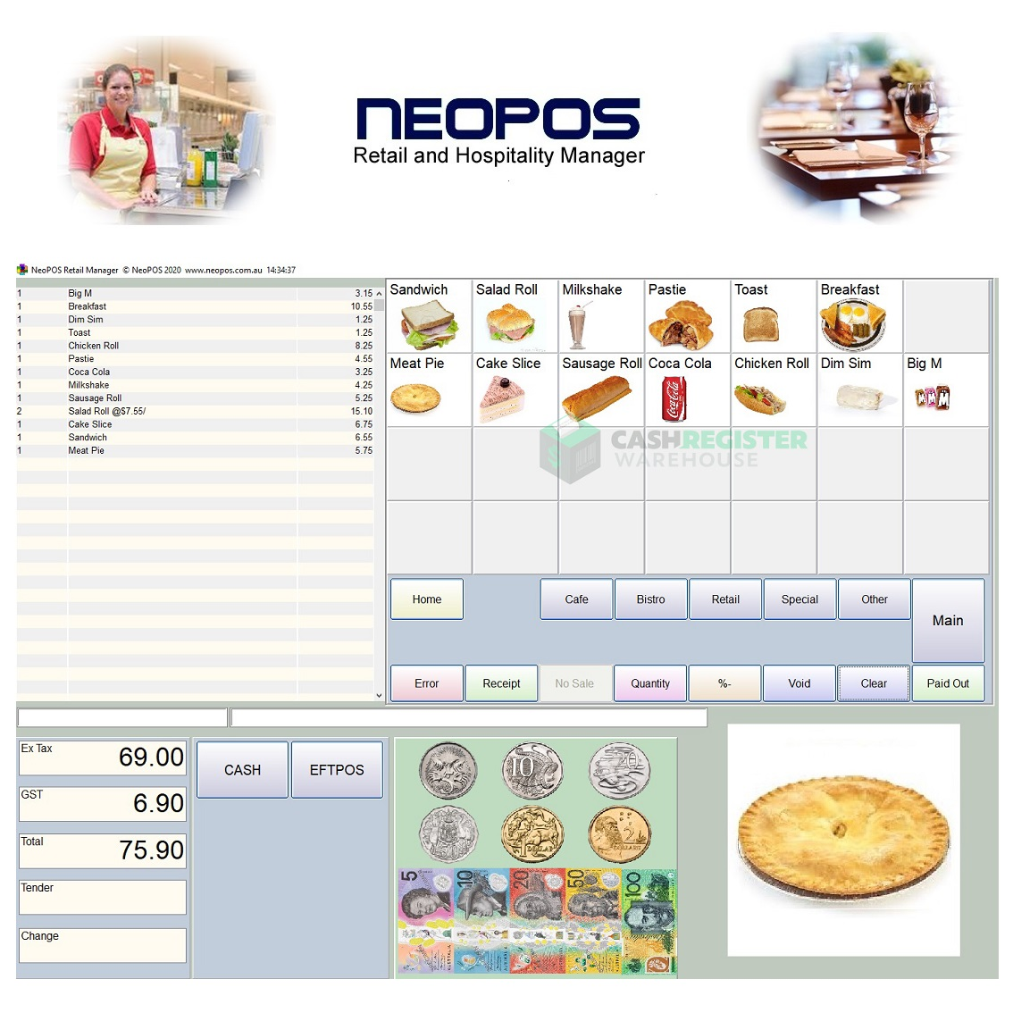 View NeoPOS Retail & Hospitality Point of Sale Software
