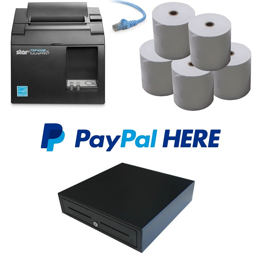 View PayPal Here POS Hardware Bundle #1