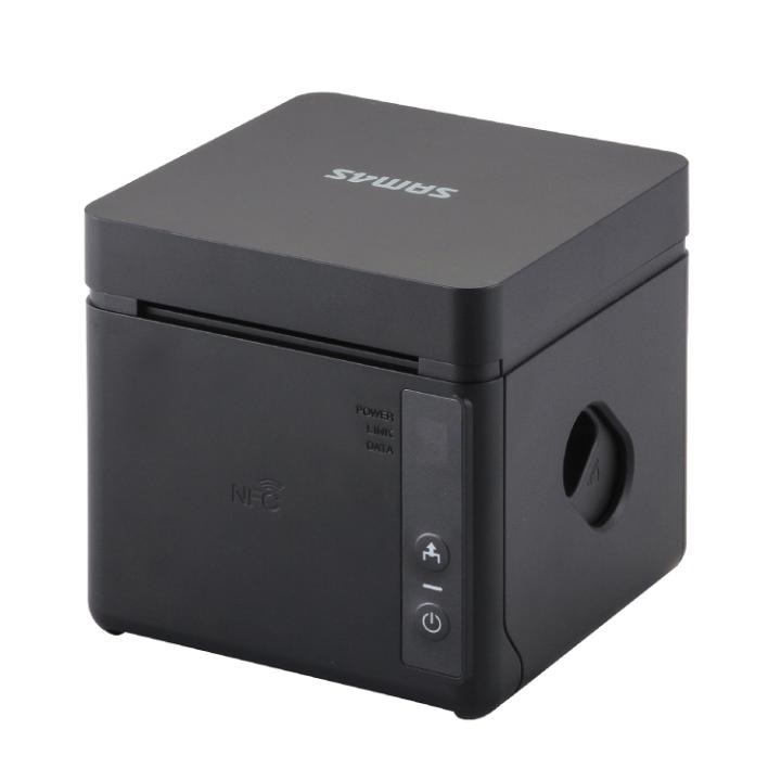 View Sam4s GCUBE 100D Thermal Receipt Printer Black
