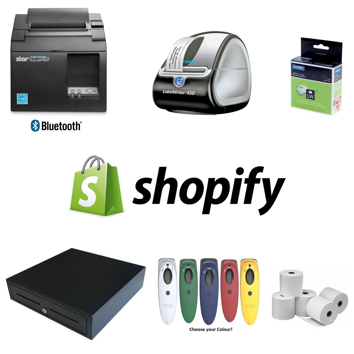 View Shopify POS Hardware Bundle #14
