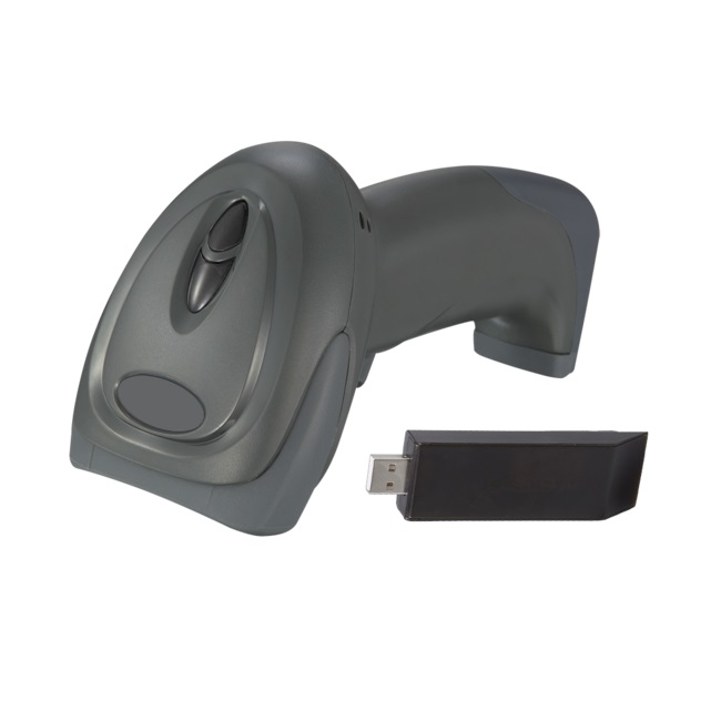 View Simtek 1D Wireless Barcode Scanner with USB Receiver