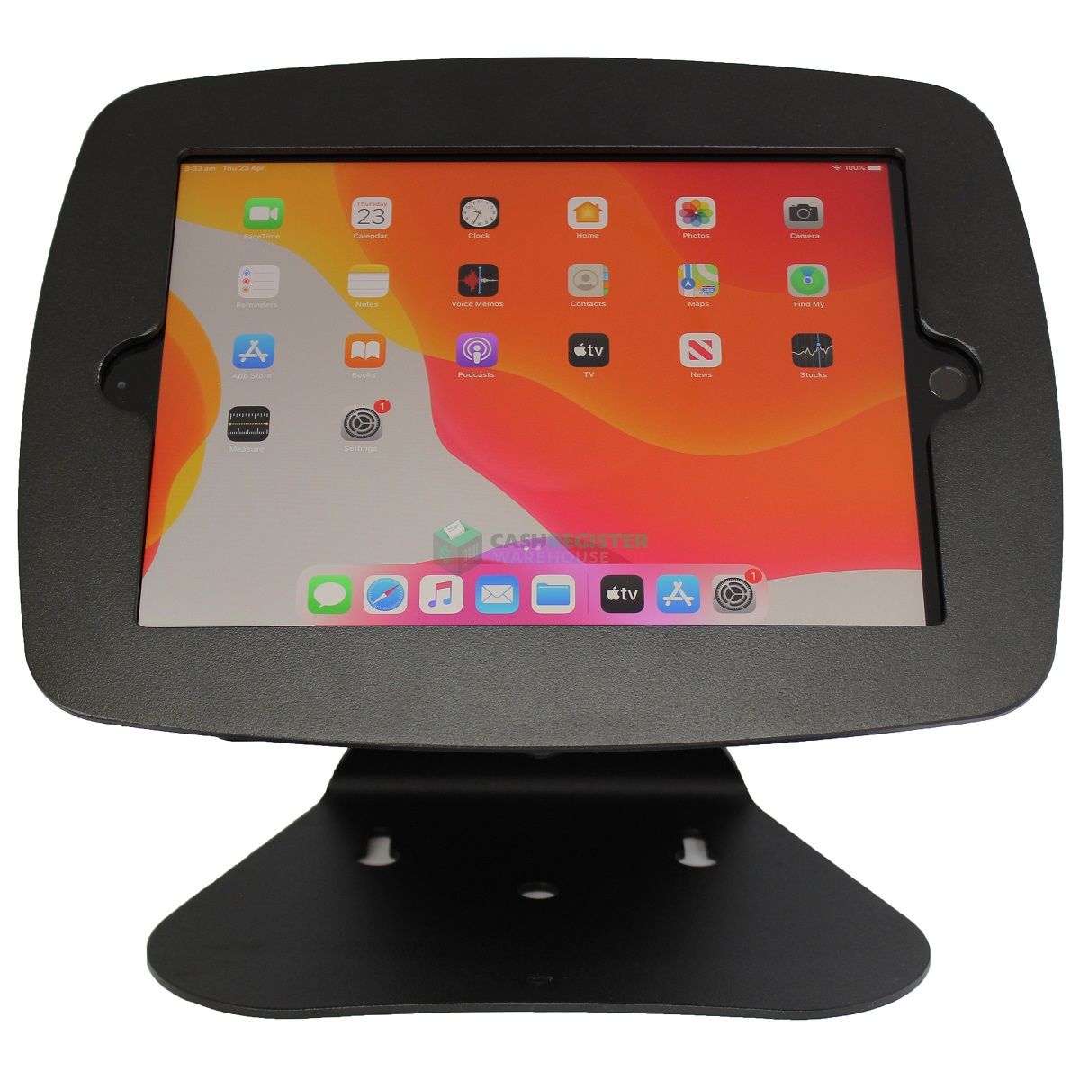 "View Simtek iPad Stand 10.2"" 7th & 8th Gen Black - Free Standing"