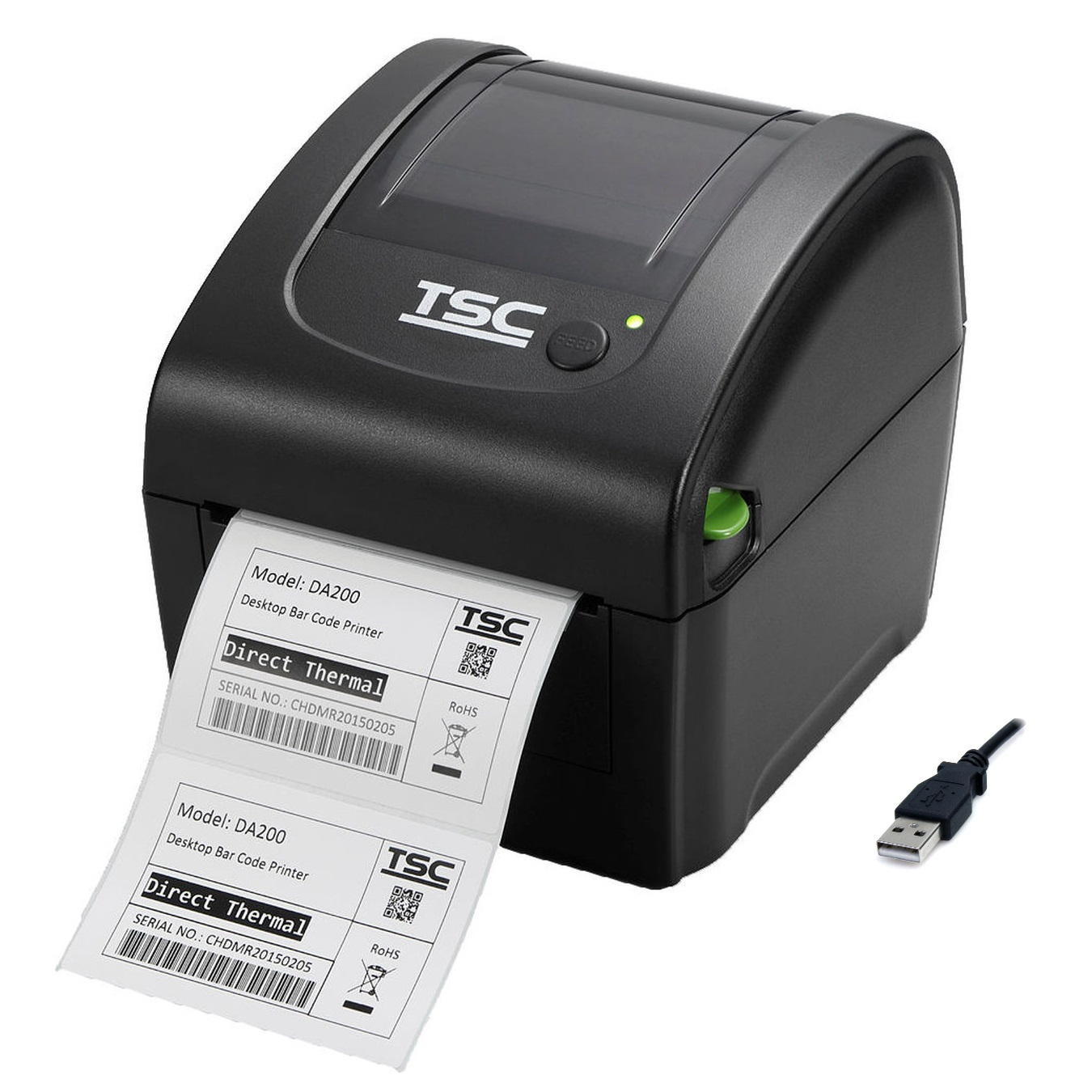 View TSC DA210 Label Printer USB