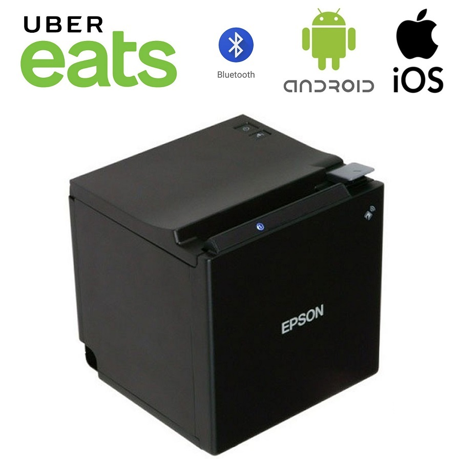 View Uber Eats Epson TM-M30II Bluetooth Printer with USB Charging Port